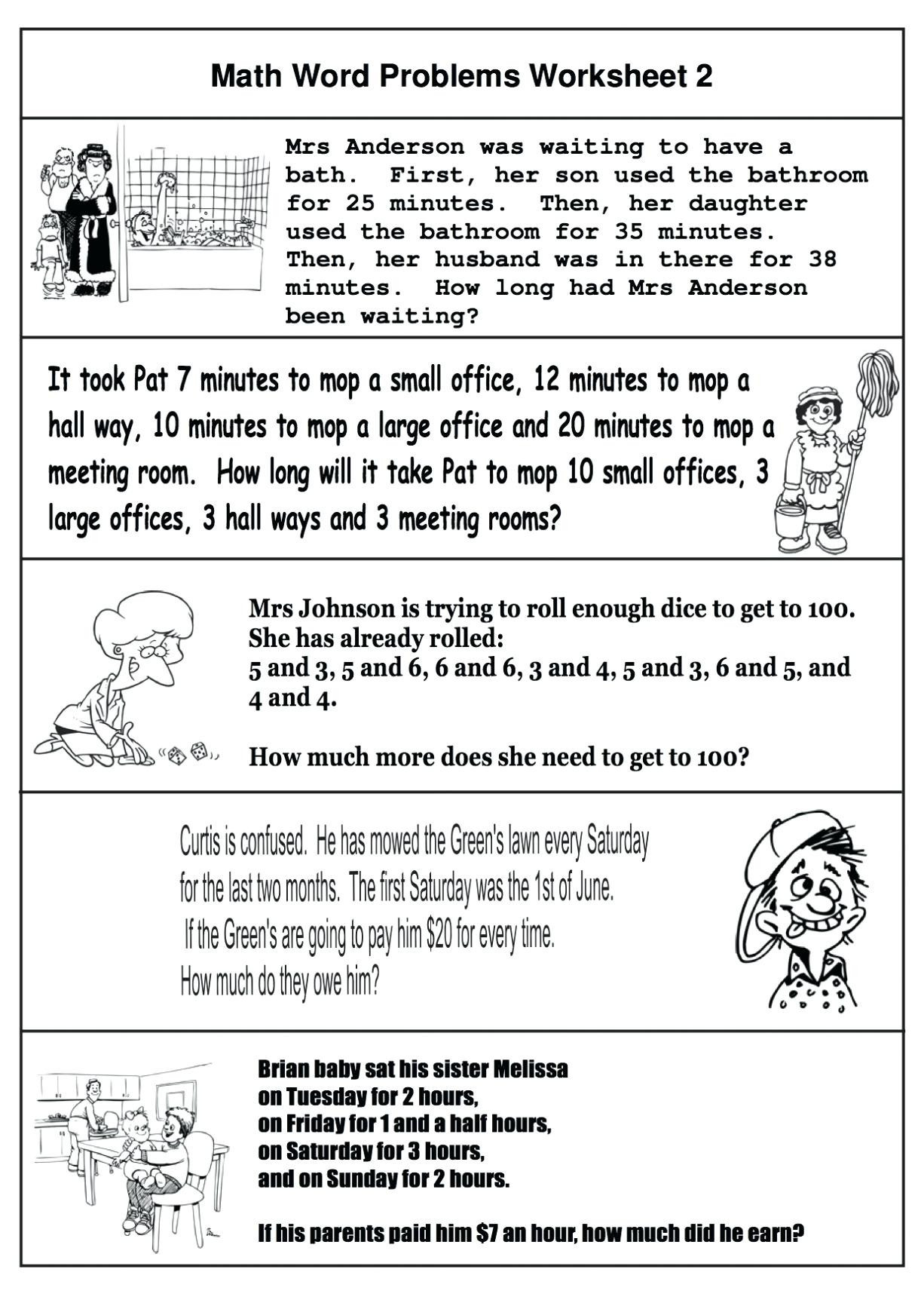 hight resolution of 5 Free Math Worksheets Fourth Grade 4 Addition Adding 3 Digit and 1 Digit  Numbers - apocalomegaproductions.com