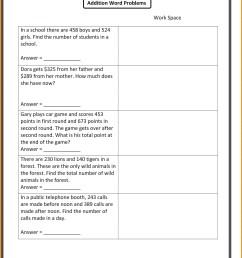 4 Free Math Worksheets Fourth Grade 4 Addition Adding whole Hundreds -  apocalomegaproductions.com [ 2069 x 1600 Pixel ]