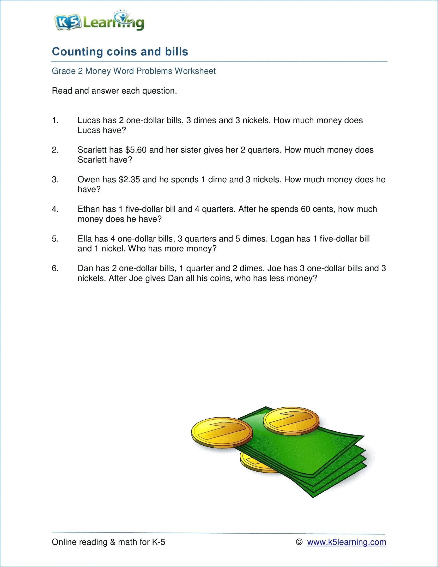 5 Free Math Worksheets Fourth Grade 4 Word Problems