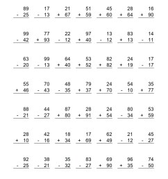 4 Free Math Worksheets Second Grade 2 Addition Add 3 Digit Numbers In  Columns No Regrouping - apocalomegaproductions.com [ 1584 x 1224 Pixel ]