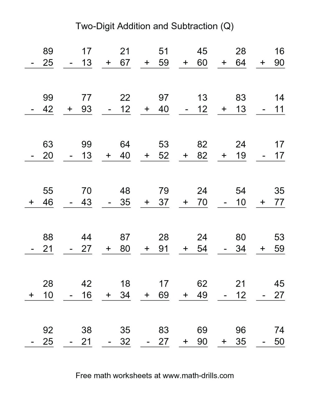 medium resolution of 4 Free Math Worksheets Second Grade 2 Addition Add 3 Digit Numbers In  Columns No Regrouping - apocalomegaproductions.com