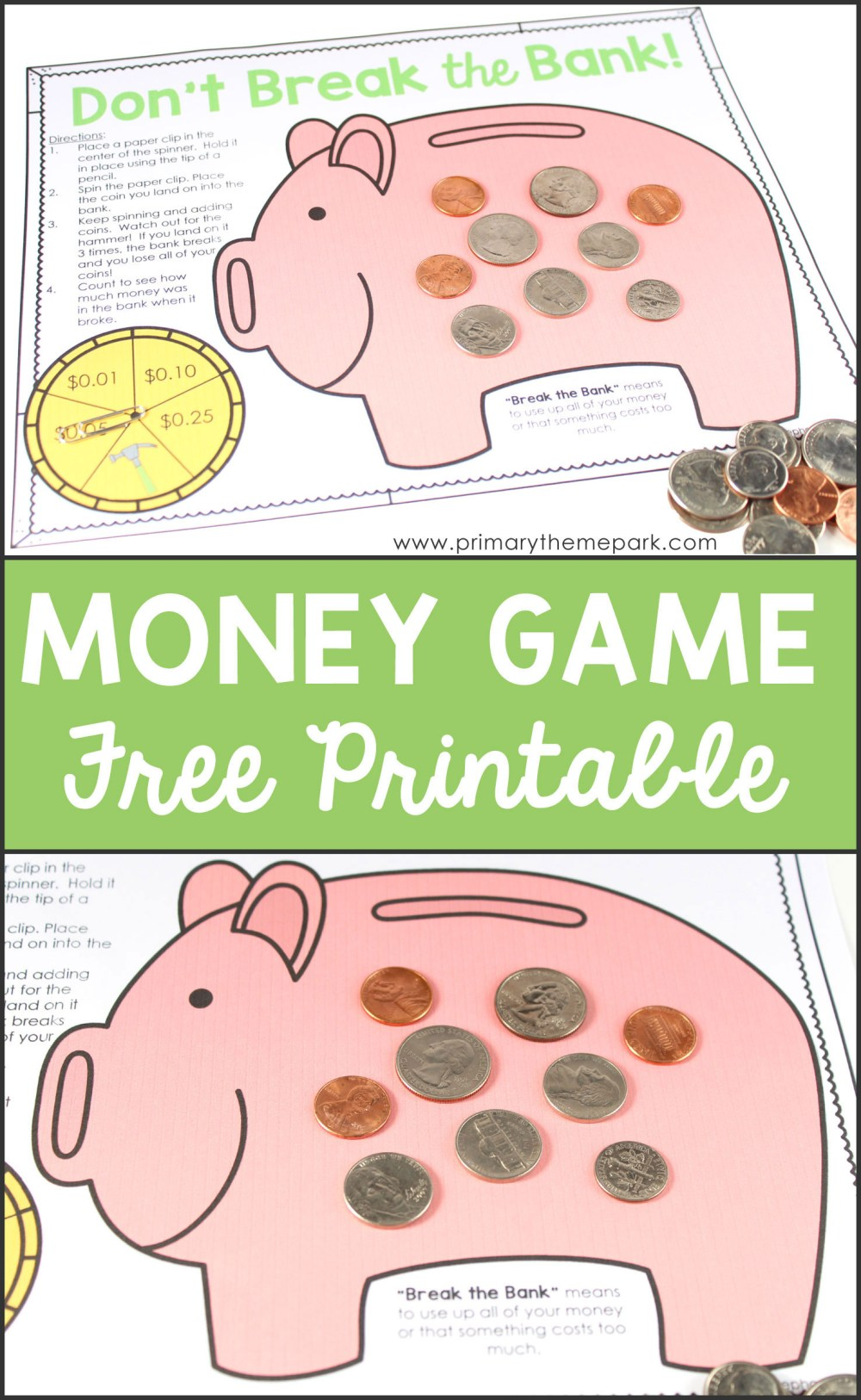 medium resolution of 5 Free Math Worksheets Second Grade 2 Counting Money Counting Money Pennies  Nickels Dimes Quarters 10 Coins - apocalomegaproductions.com