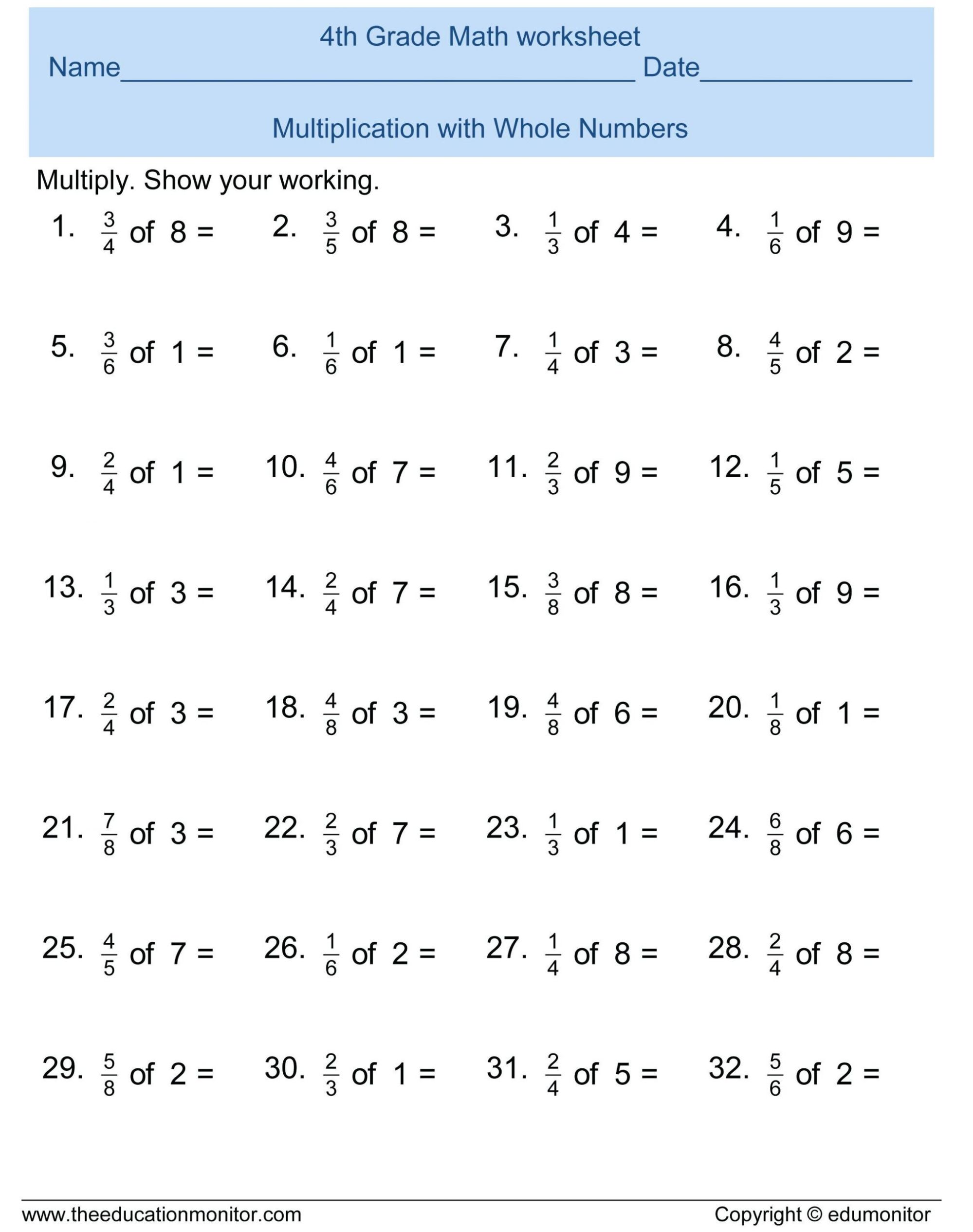 hight resolution of 4 Free Math Worksheets Second Grade 2 Multiplication Multiplication Table 5  10 - apocalomegaproductions.com