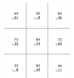 3 Free Math Worksheets Second Grade 2 Subtraction Subtract Regroup Across  Zeros - apocalomegaproductions.com [ 1650 x 1275 Pixel ]