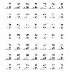 4 Free Math Worksheets Second Grade 2 Subtraction Subtracting 1 Digit From  3 Digit Missing Number - apocalomegaproductions.com [ 1584 x 1224 Pixel ]