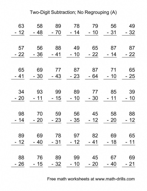 small resolution of 4 Free Math Worksheets Second Grade 2 Subtraction Subtracting 1 Digit From  3 Digit Missing Number - apocalomegaproductions.com