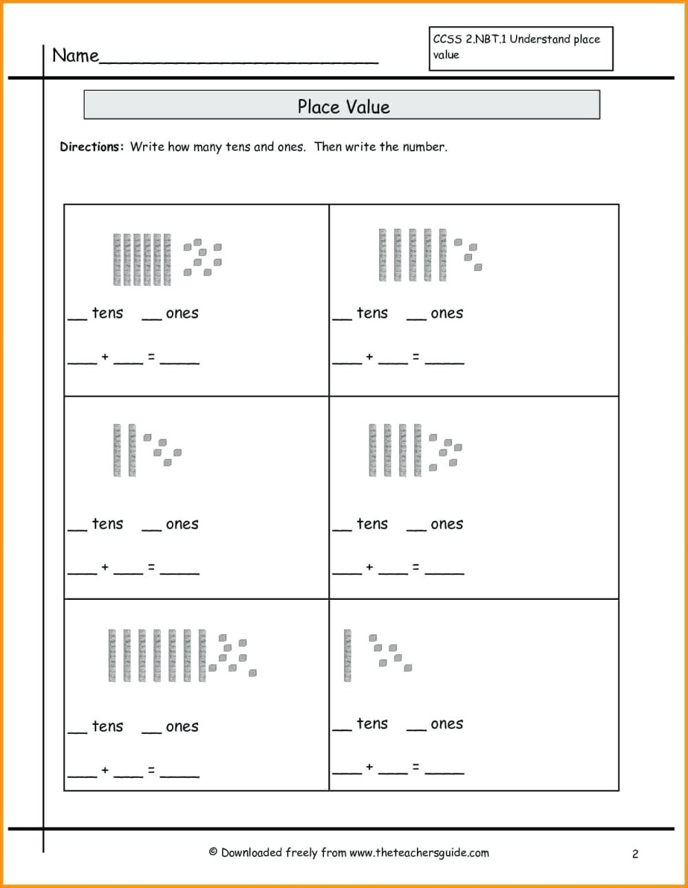 medium resolution of 4 Free Math Worksheets Second Grade 2 Subtraction Subtracting 1 Digit From  3 Digit Missing Number - apocalomegaproductions.com
