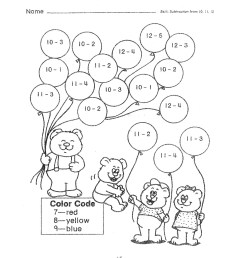 5 Free Math Worksheets Second Grade 2 Subtraction Subtraction Up to 20 No  Regrouping - apocalomegaproductions.com [ 1650 x 1275 Pixel ]