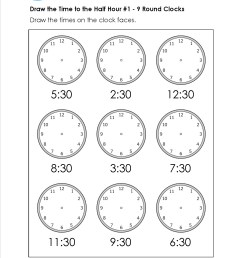 5 Free Math Worksheets Second Grade 2 Telling Time Telling Time 1 Minute  Draw Clock - apocalomegaproductions.com [ 1650 x 1275 Pixel ]