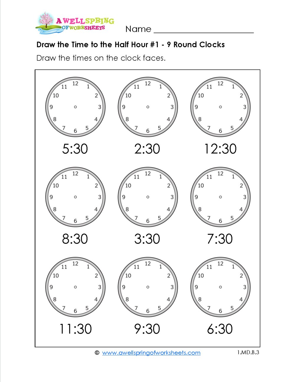 medium resolution of 5 Free Math Worksheets Second Grade 2 Telling Time Telling Time 1 Minute  Draw Clock - apocalomegaproductions.com