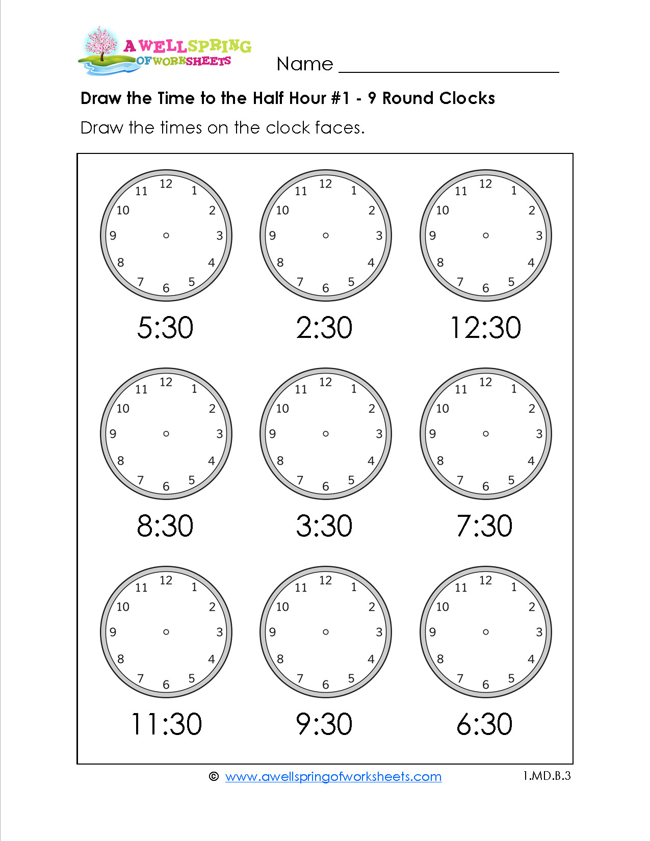 hight resolution of 5 Free Math Worksheets Second Grade 2 Telling Time Telling Time 1 Minute  Draw Clock - apocalomegaproductions.com