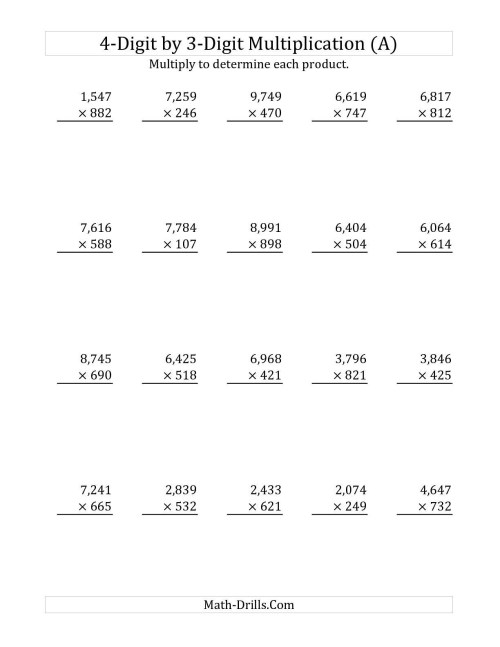 small resolution of 5 Free Math Worksheets Third Grade 3 Addition Add 3 3 Digit Numbers In  Columns - AMP