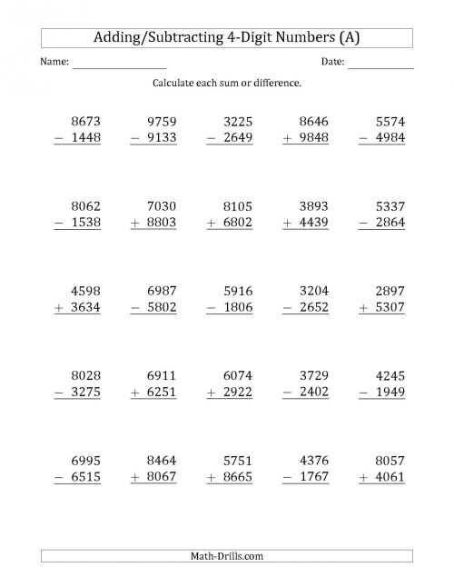 small resolution of 5 Free Math Worksheets Third Grade 3 Addition Add 3 Digit Numbers In  Columns No Regrouping - apocalomegaproductions.com
