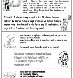 4 Free Math Worksheets Third Grade 3 Addition Word Problems -  apocalomegaproductions.com [ 1736 x 1226 Pixel ]