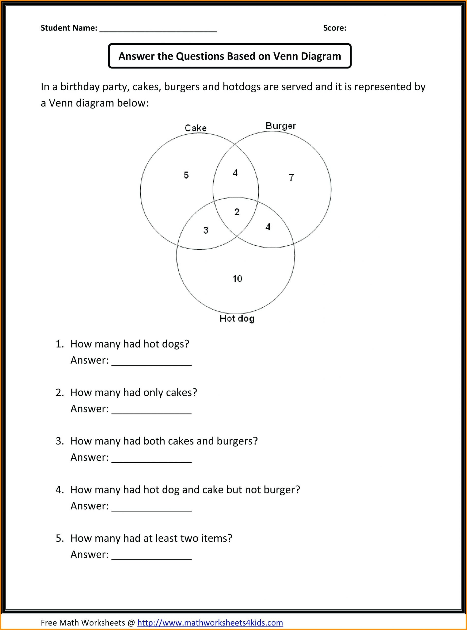 4 Free Math Worksheets First Grade 1 Subtraction Subtract