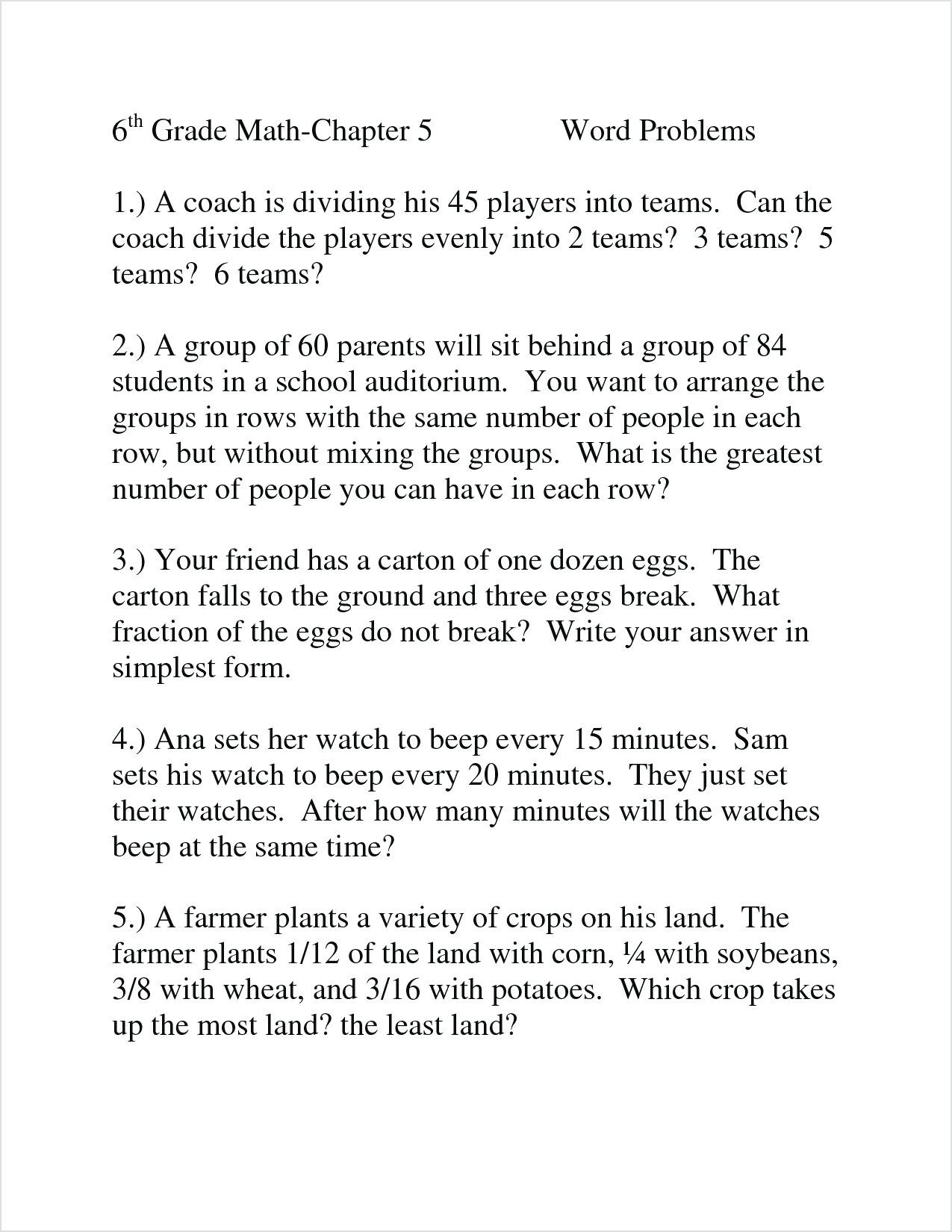 hight resolution of 3 Free Math Worksheets Third Grade 3 Division Word Problems -  apocalomegaproductions.com