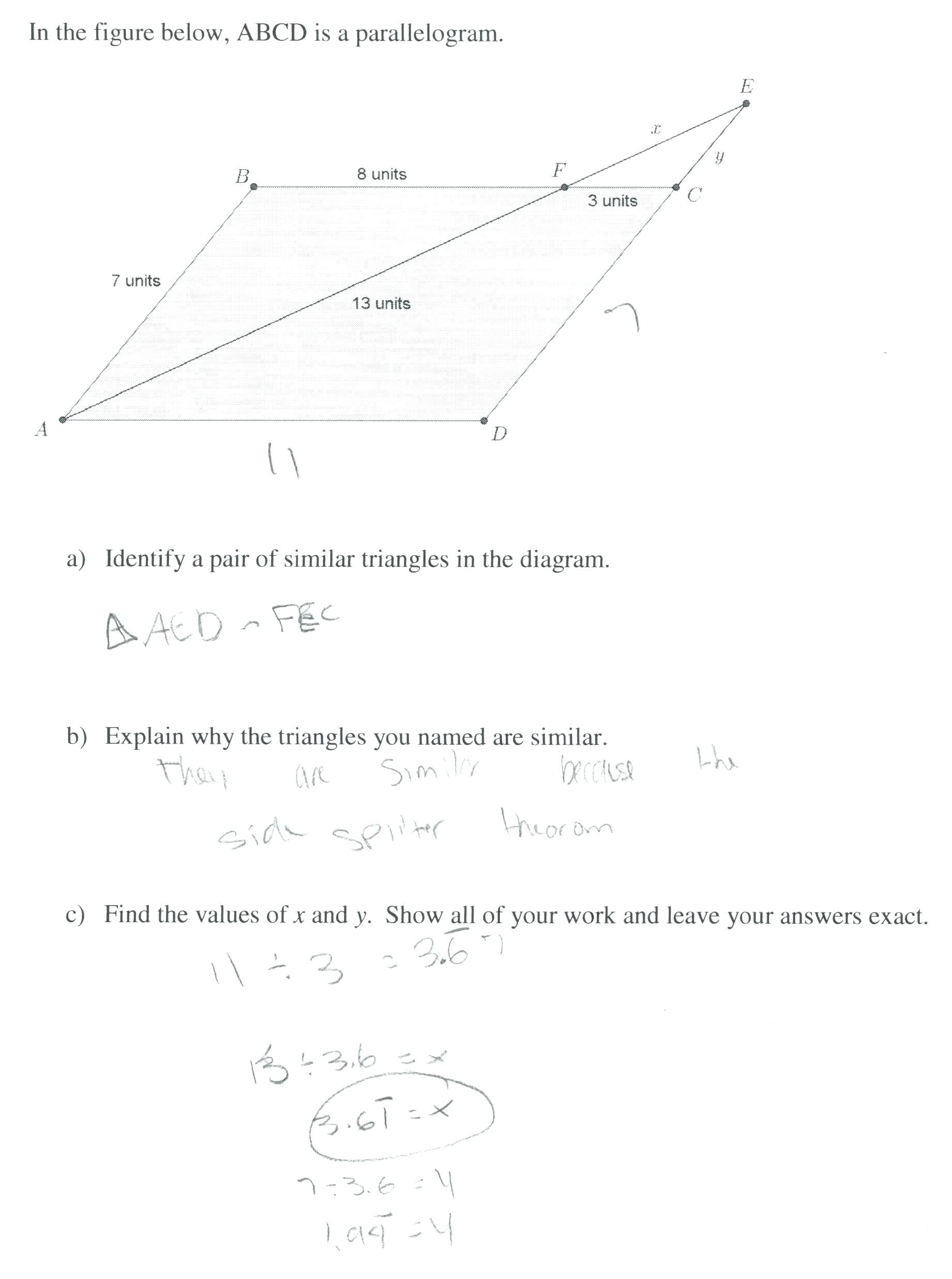 hight resolution of 4 Free Math Worksheets Third Grade 3 Fractions and Decimals Adding Fractions  Like Denominators - AMP