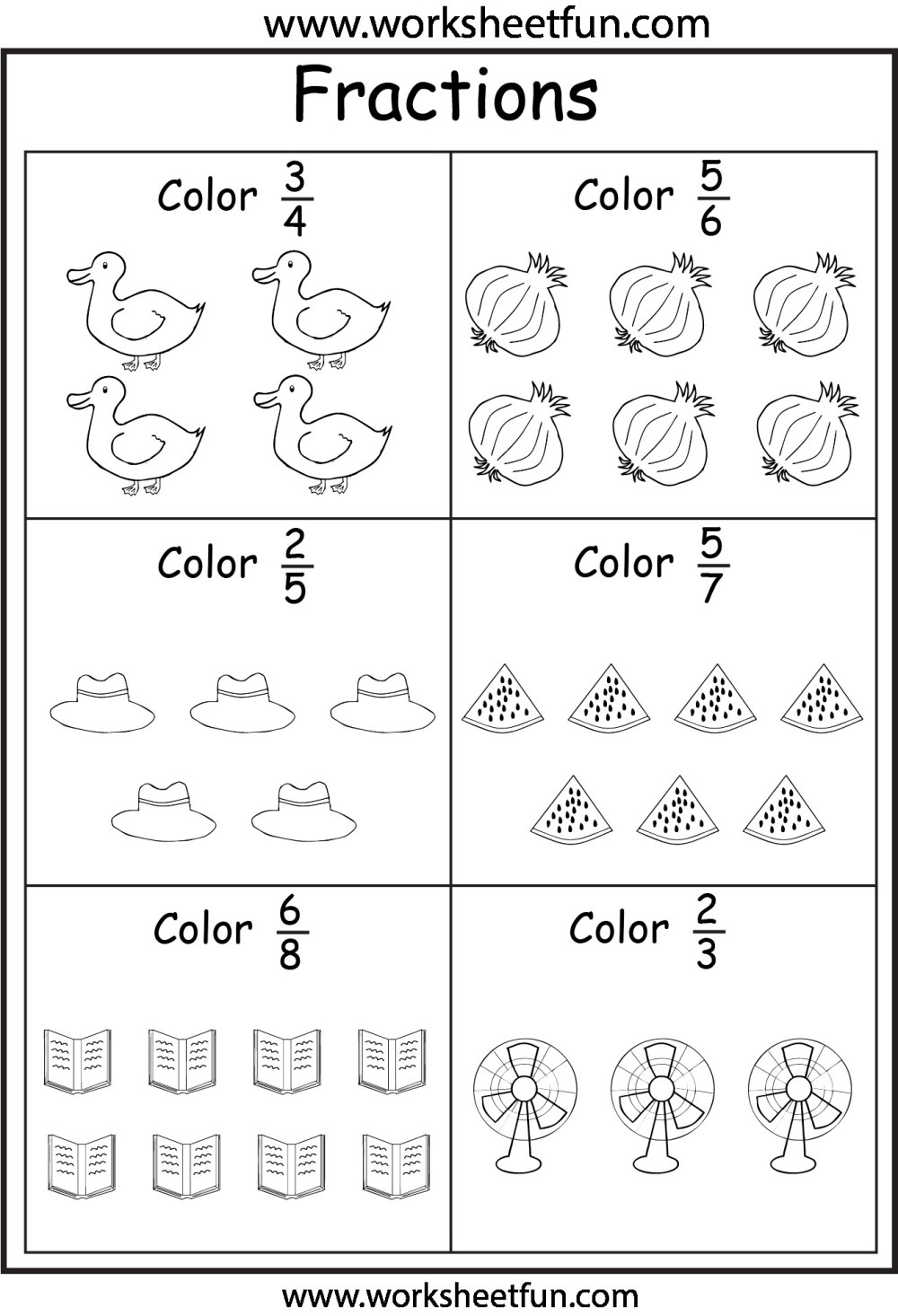 medium resolution of 4 Free Math Worksheets Third Grade 3 Fractions and Decimals Equivalent  Fractions - apocalomegaproductions.com
