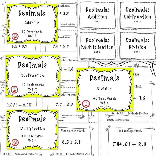 small resolution of 3 Free Math Worksheets Third Grade 3 Fractions and Decimals Subtracting  Decimals In Columns 1 Digit - AMP