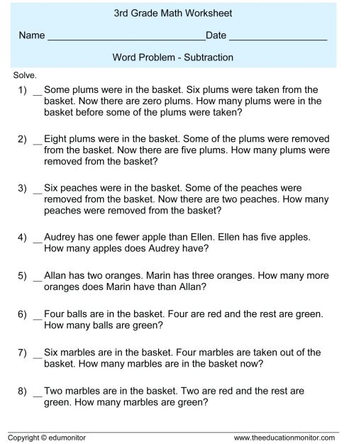 small resolution of 3 Free Math Worksheets Third Grade 3 Fractions and Decimals Subtracting  Fractions From Mixed Numbers - apocalomegaproductions.com