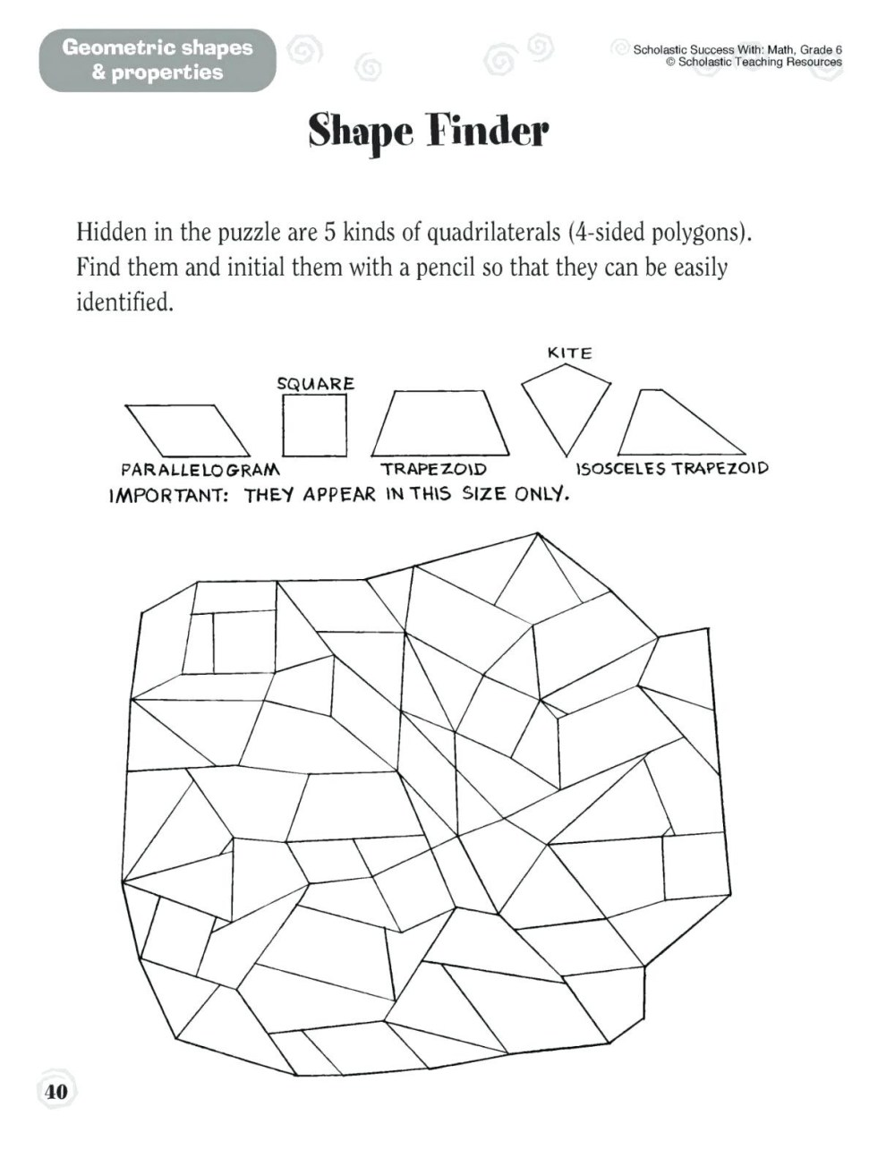 medium resolution of 5 New First Grade Geometry Worksheets - apocalomegaproductions.com