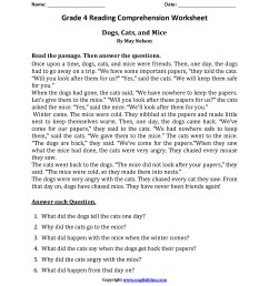 3 Reading Comprehension Worksheets First Grade 1 -  apocalomegaproductions.com [ 2200 x 1700 Pixel ]