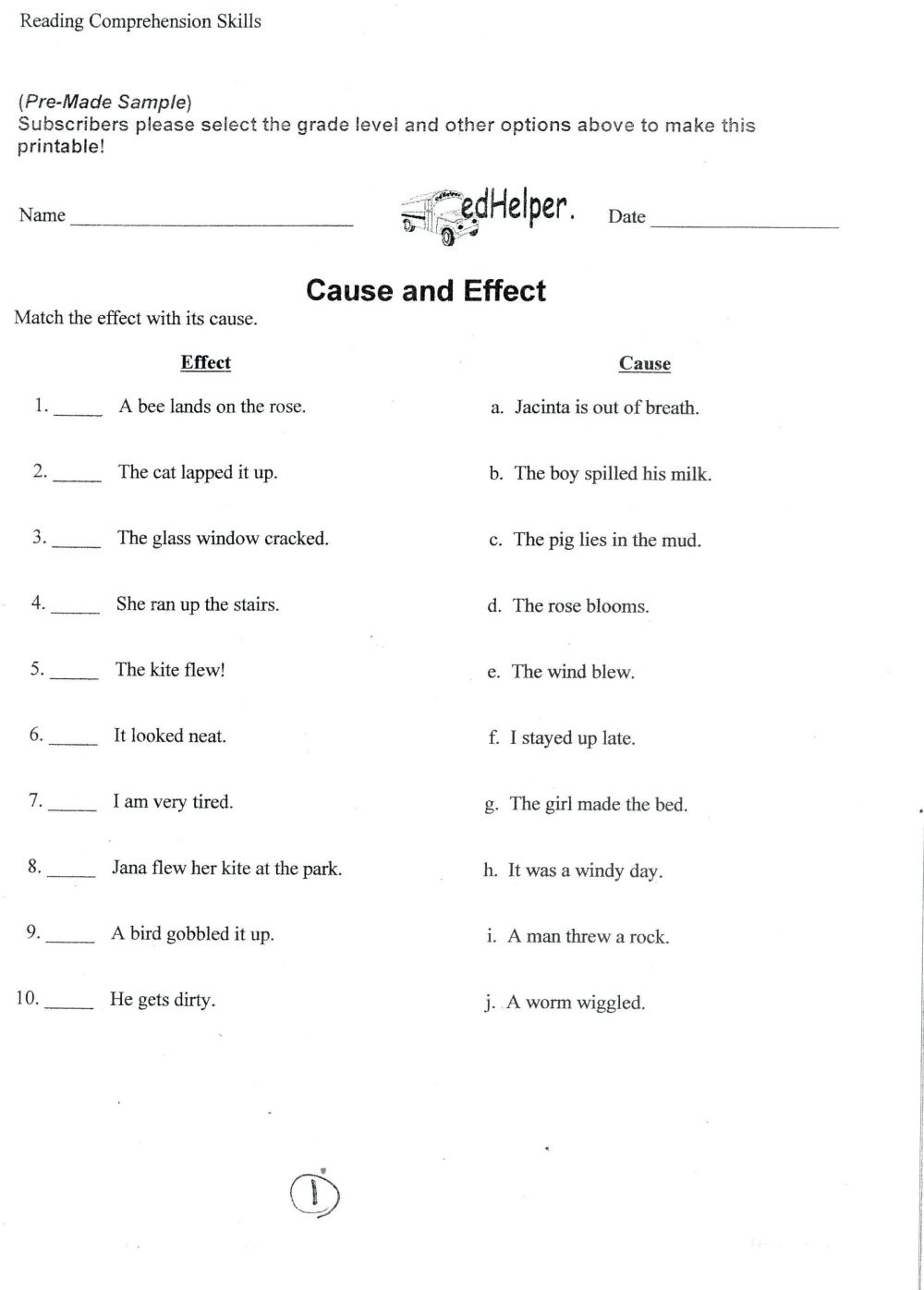 medium resolution of 5 Reading Comprehension Worksheets Fourth Grade 4 -  apocalomegaproductions.com