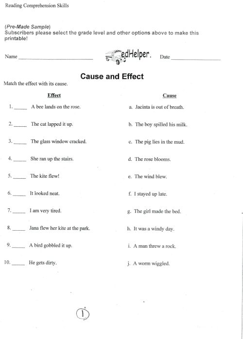 small resolution of 5 Reading Comprehension Worksheets Fourth Grade 4 -  apocalomegaproductions.com