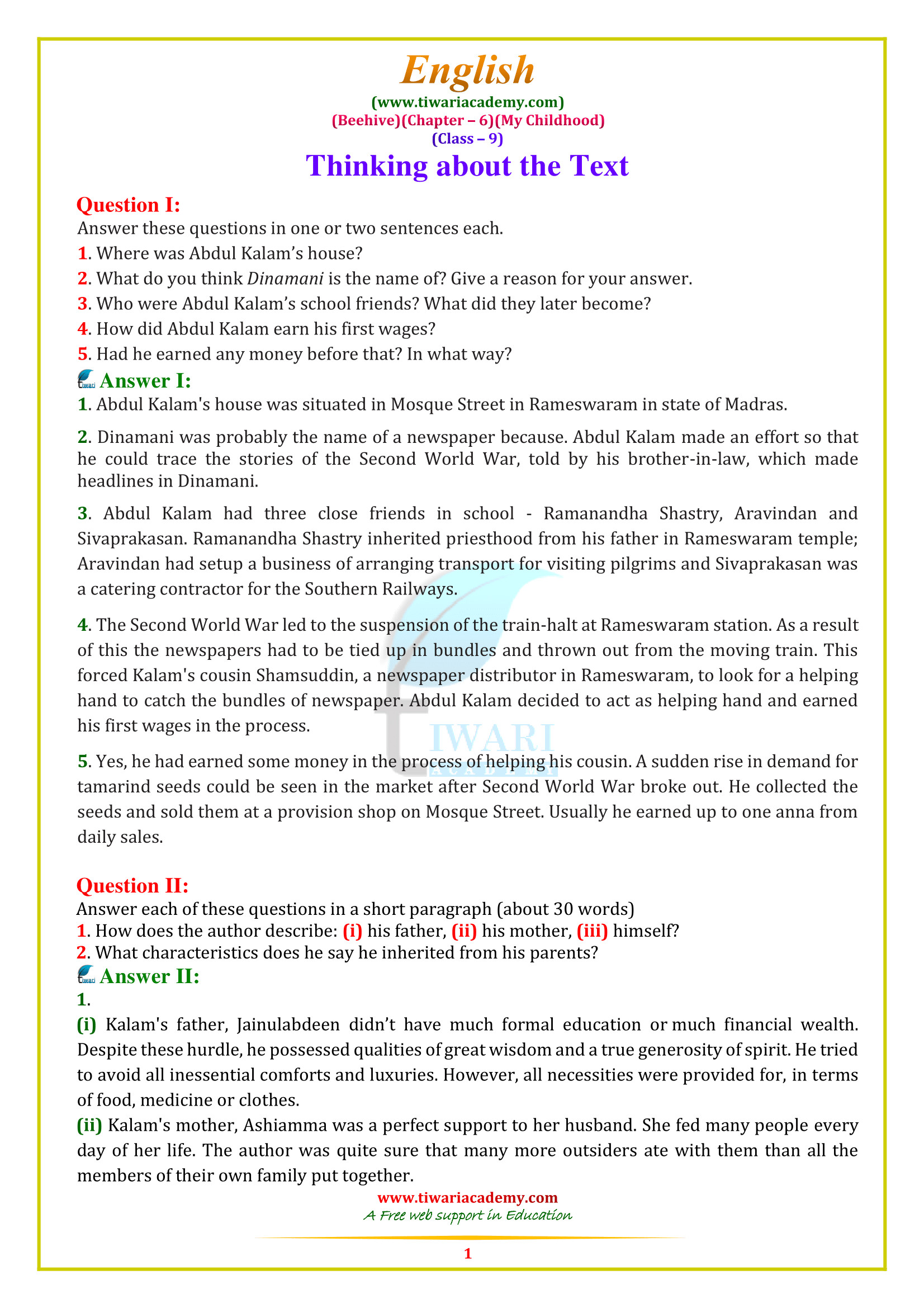 4 Reading Comprehension Worksheets Sixth Grade 6