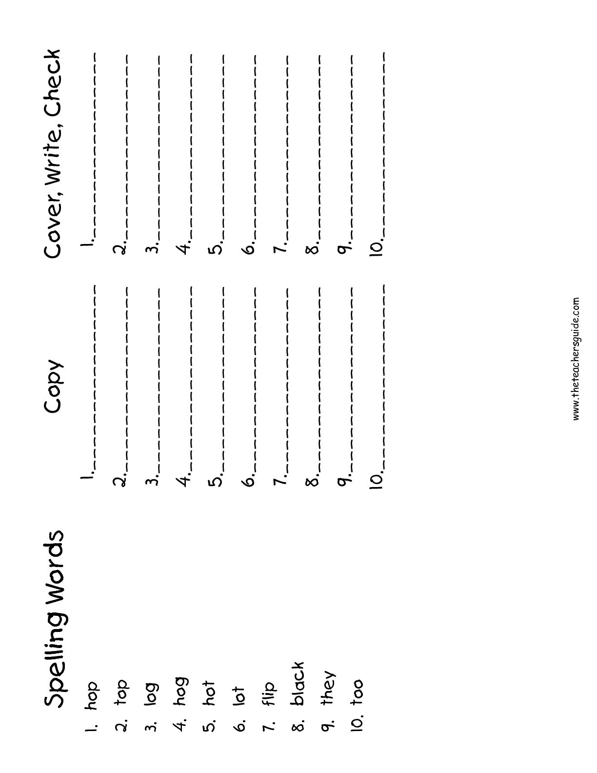 hight resolution of 5 Spelling Worksheets First Grade 1 Spelling Words -  apocalomegaproductions.com
