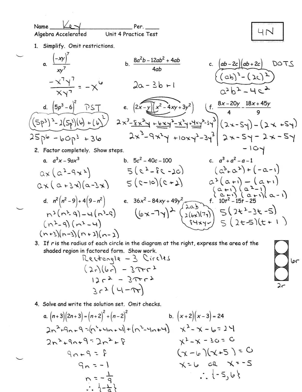 3 There Is Simple Process Solving Math Word Problems