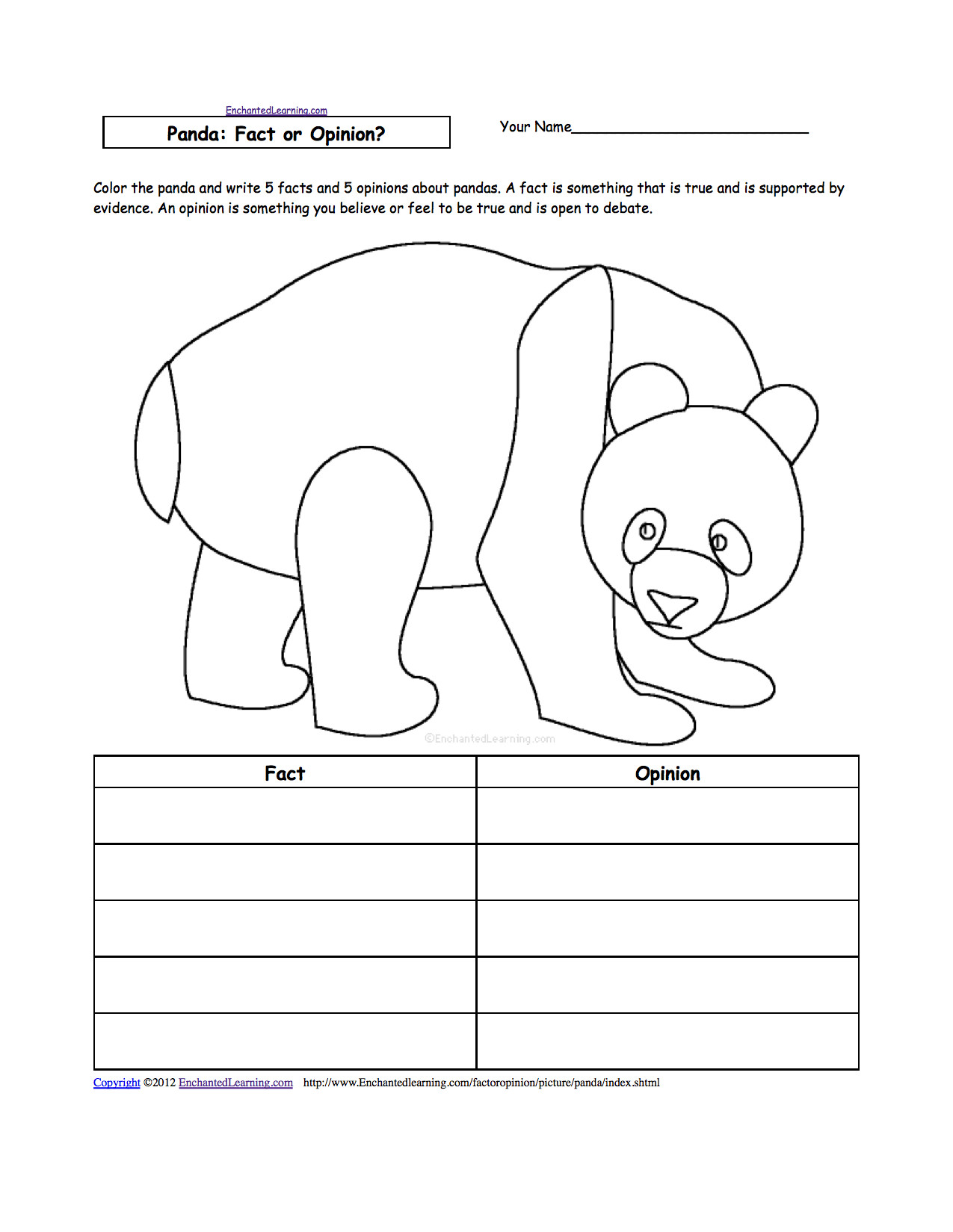6 Animals Worksheets For Kids Activities