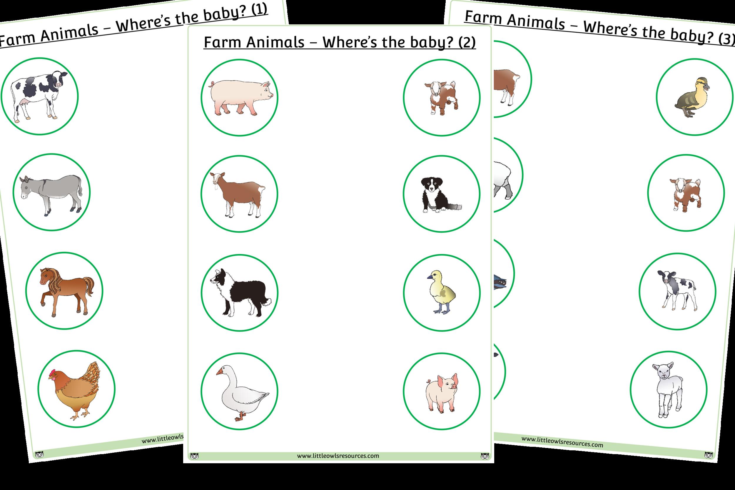 6 Farm Animals Crafts For Kids Sheep