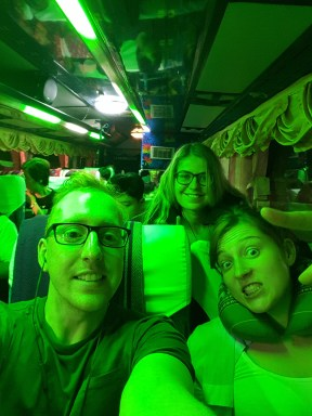 Night bus to Chiang Mai