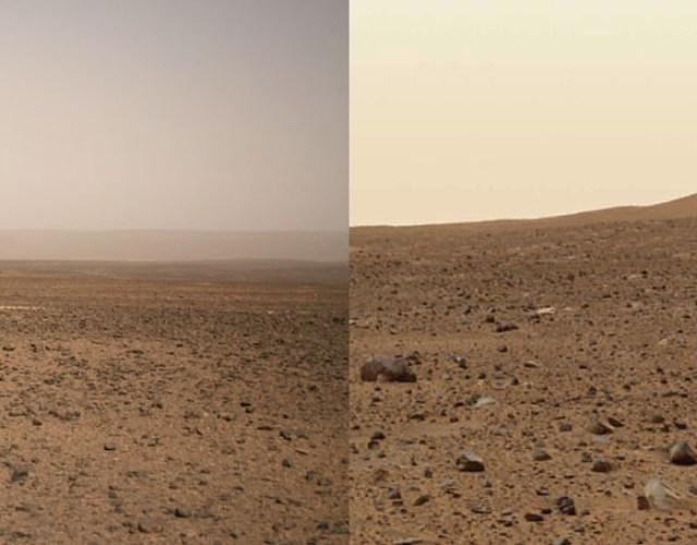 Terra e Marte pelo Filipe