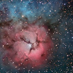 Grand New Avanza Nebula Blue Dark Brown Mica Apod 2007 August 13 The Trifid In Stars And Dust