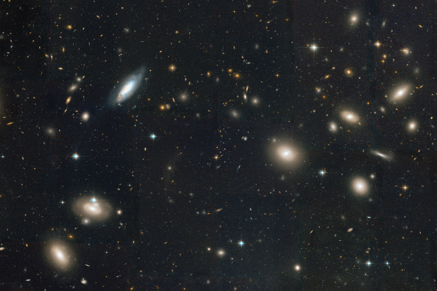 NASA Picture of Coma Cluster