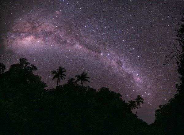 Milky Way Galaxy in the Sky
