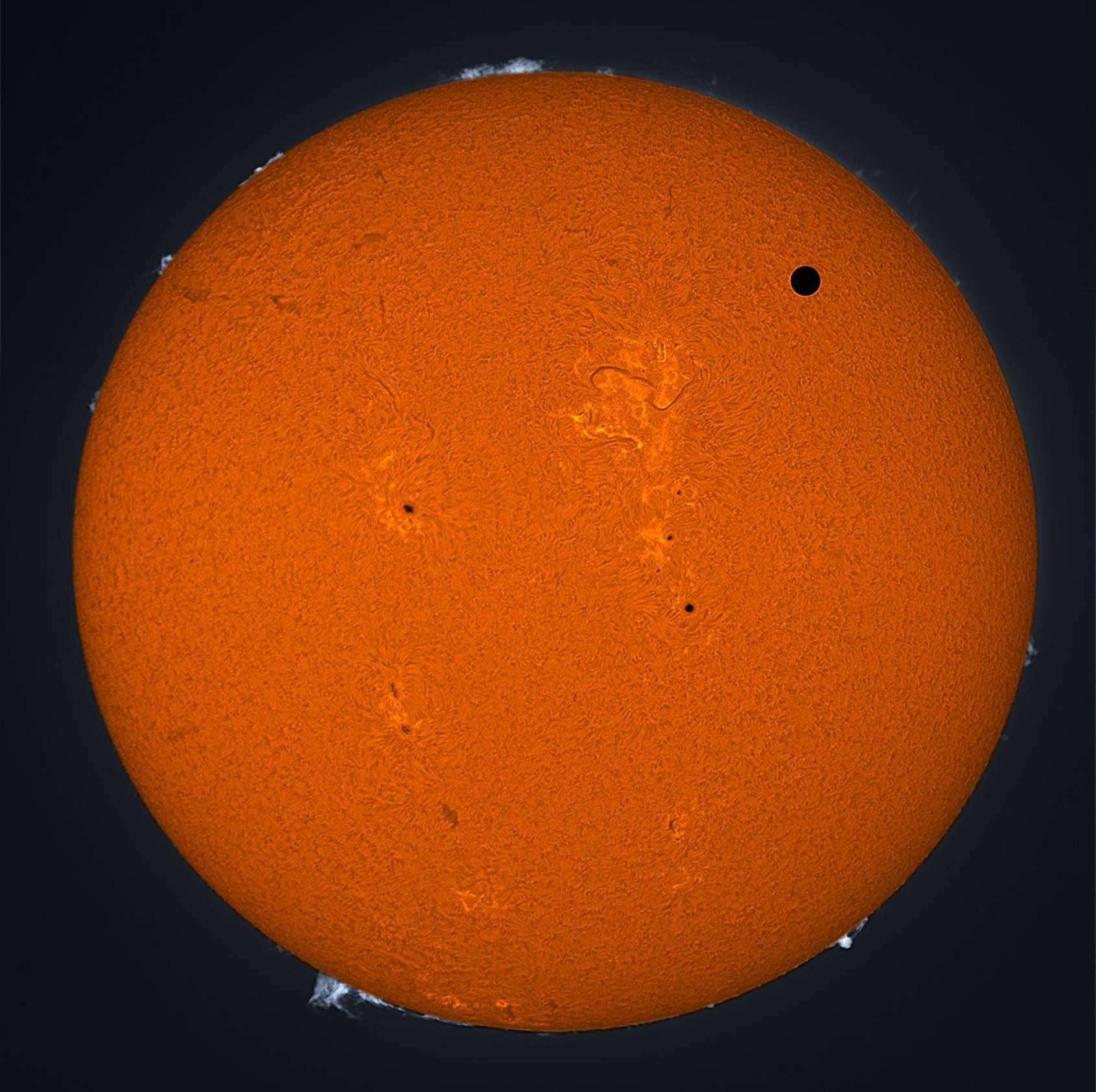 Venus Transit Some Impressive Pictures « Eccentric Orbits