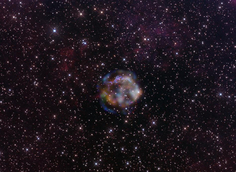 supernova remnant Cas A