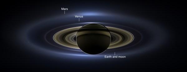 Apod 2013 November 13 - In Shadow Of Saturn