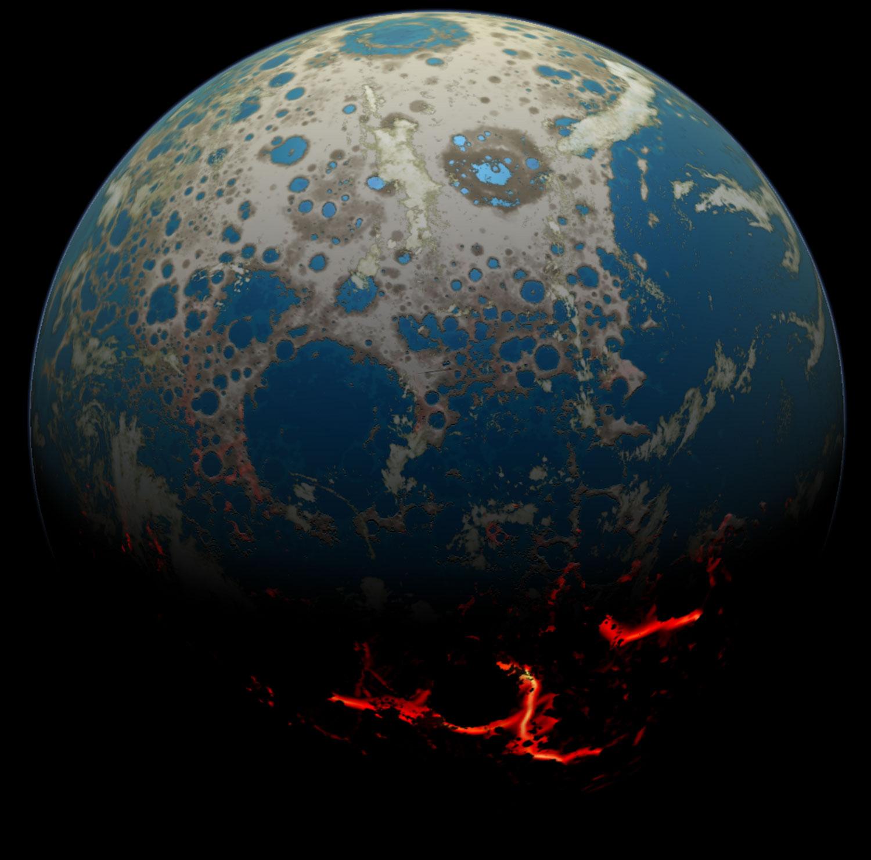 La Tierra primigenia