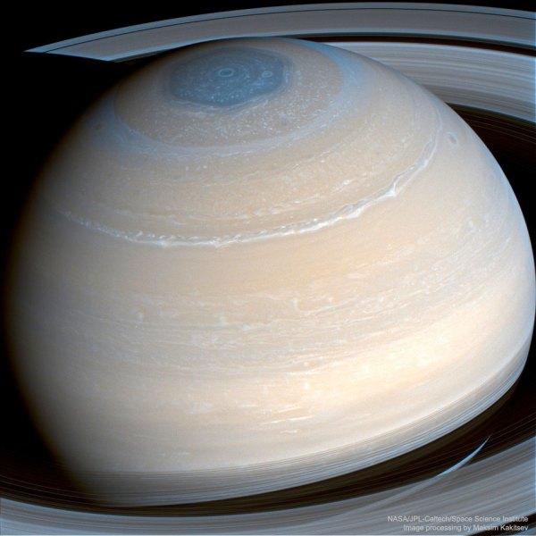 Real Saturn Pictures Cassini