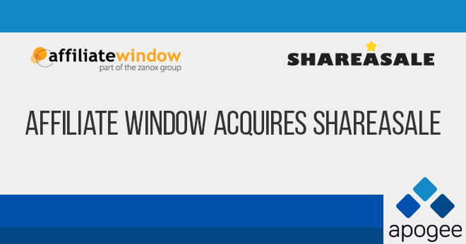 Affiliate Window Acquires ShareASale