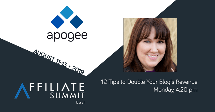 Apogee will be at Affiliate Summit East 2019