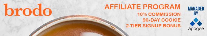 Brodo Affiliate Program | Managed by Apogee