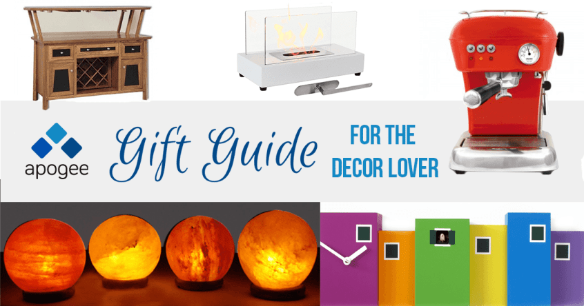 Decor Gift Guide - 2017 - Holiday Gift Guide from Apogee