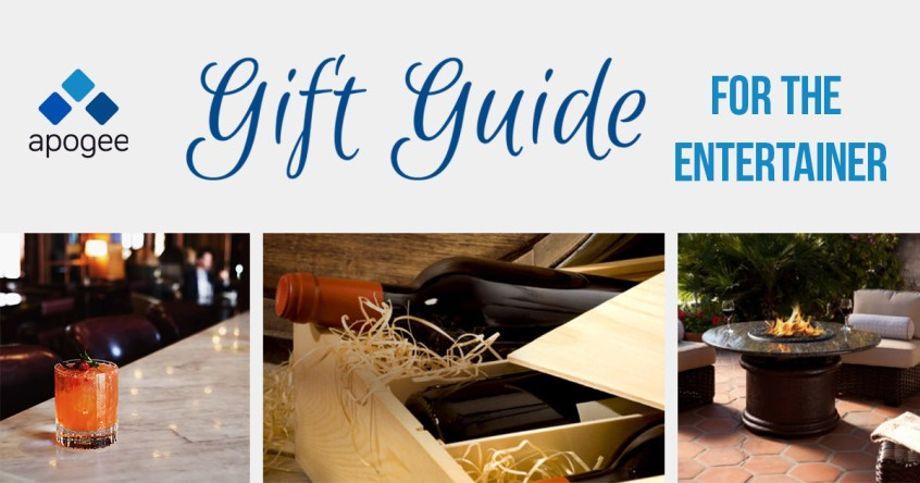 Entertainer Gift Guide - 2017 - Holiday Gift Guide from Apogee