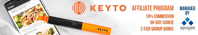 Keyto Affiliate ProgramKeyto Affiliate Program - Managed by Apogee