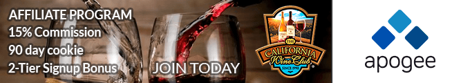 The California Wine Club Affiliate Program - Managed by Apogee
